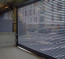 гаражни врати перфориран ламел