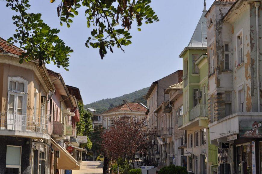 Петрич търговска улица